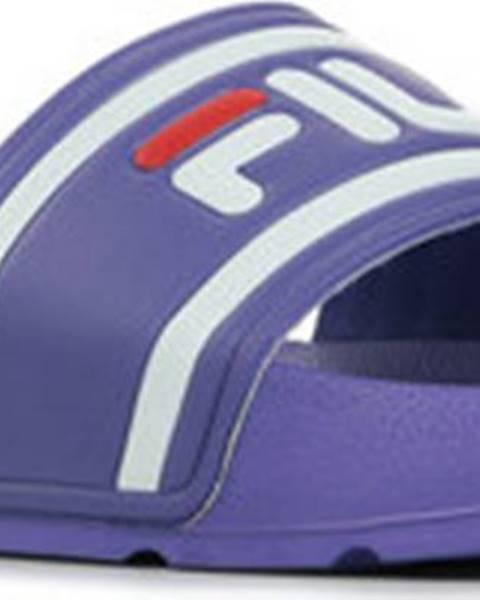 Fialové pantofle fila
