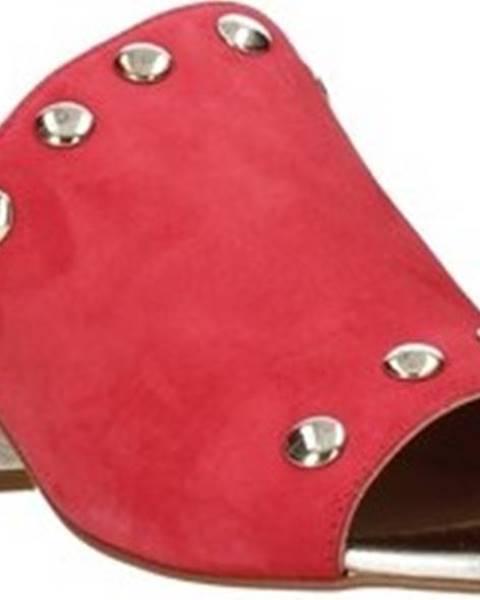 Červené pantofle Igi&co
