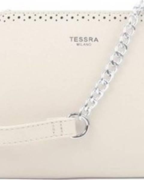 Béžová kabelka Tessra