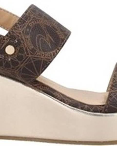 Hnědé sandály Gattinoni