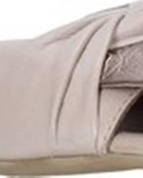 Béžové pantofle Bueno Shoes