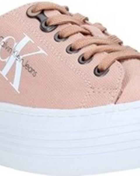 Růžové tenisky calvin klein jeans