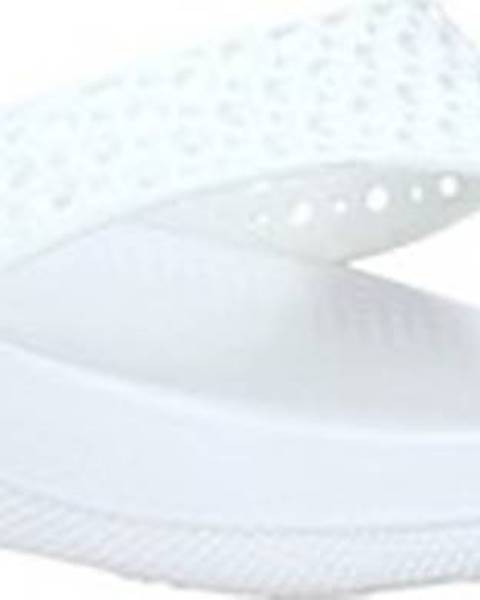 Bílé pantofle FitFlop