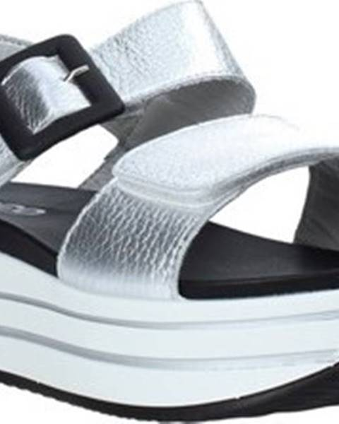 Stříbrné sandály Igi&co