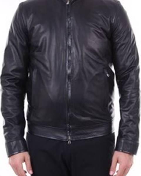 Černá bunda Barba Napoli