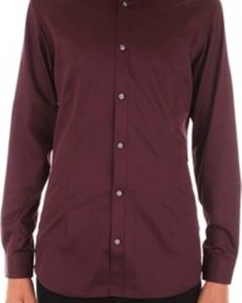 Fialová košile Premium by Jack & Jones