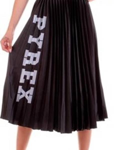 Černá sukně Pyrex