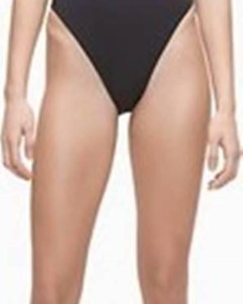 Černé plavky calvin klein jeans