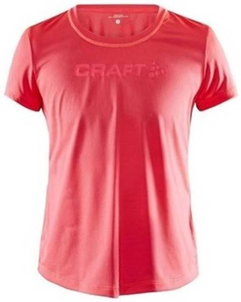 Růžový top Craft