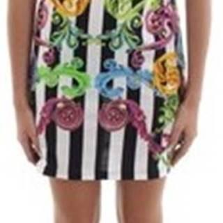 Versace Krátké šaty D2.HVB4K1.30327 Bílá