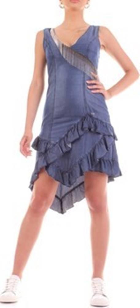 YES ZEE Yes Zee Krátké šaty A239-X823 ruznobarevne
