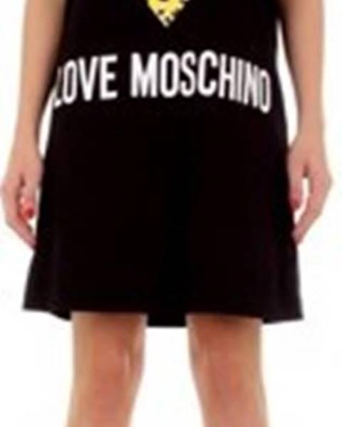 Černé šaty Love Moschino