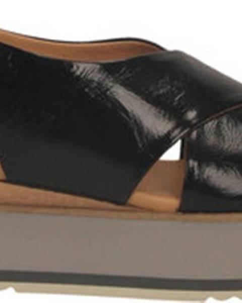 Černé sandály Paloma Barcelò