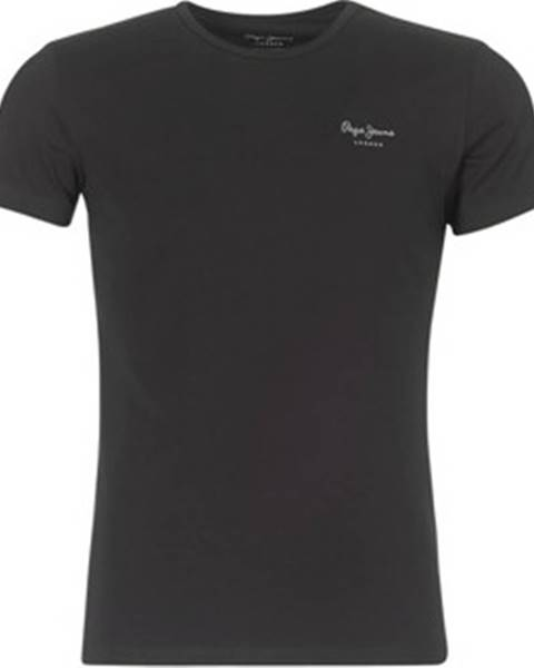 Černé tričko pepe jeans
