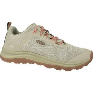 Keen Běžecké / Krosové boty W Terradora II Vent Béžová