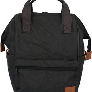 New Rebels Batohy Látkový batoh černý - Cody Černá