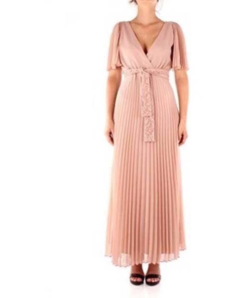Růžové šaty Marella