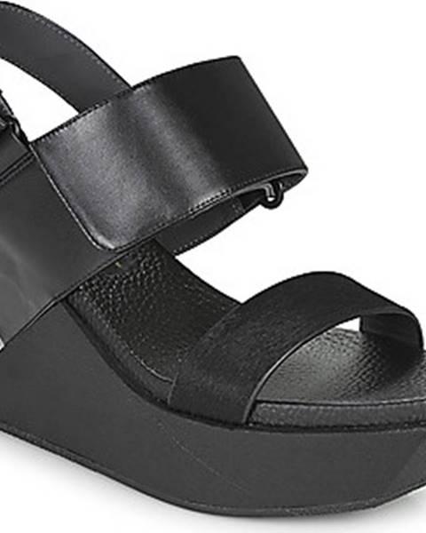 Černé sandály United Nude