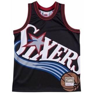 Mitchell And Ness Tílka / Trička bez rukávů Nba Big Face Jersey Philadelphia 76ERS ruznobarevne
