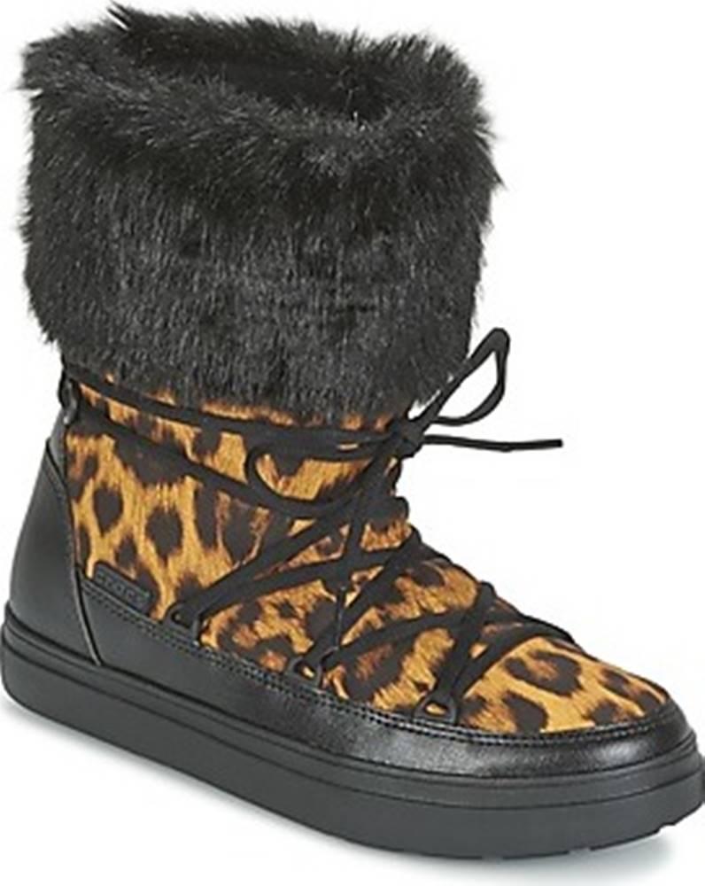 crocs Crocs Zimní boty LODGEPOINT LACE BOOT W Hnědá