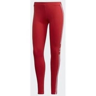 adidas Legíny / Punčochové kalhoty Legginsy Trefoil Tight Červená