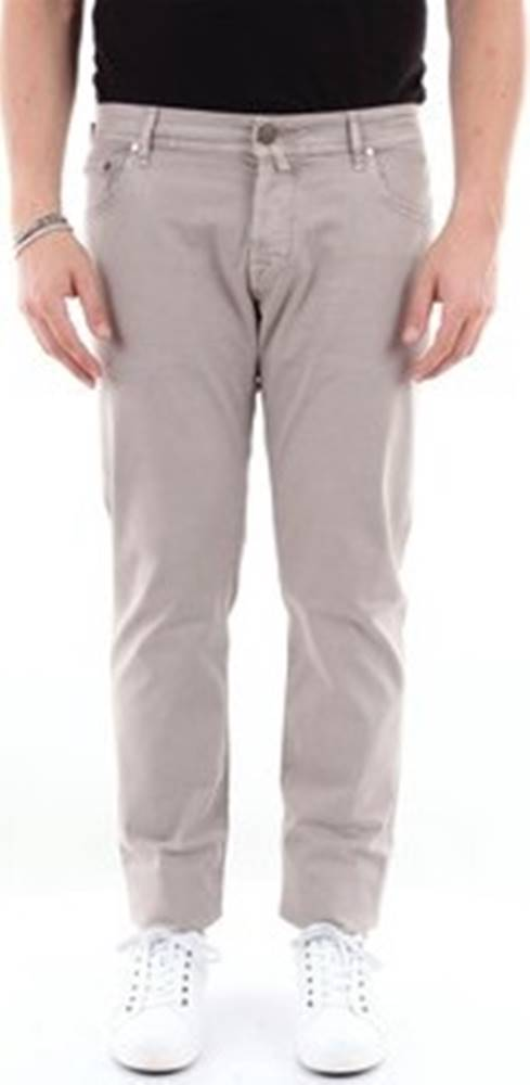 Jacob Cohen Jacob Cohen Kapsáčové kalhoty J62200566V Béžová