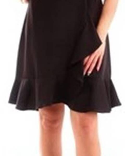Černé šaty Fracomina