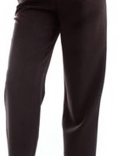 Černé kalhoty Fracomina
