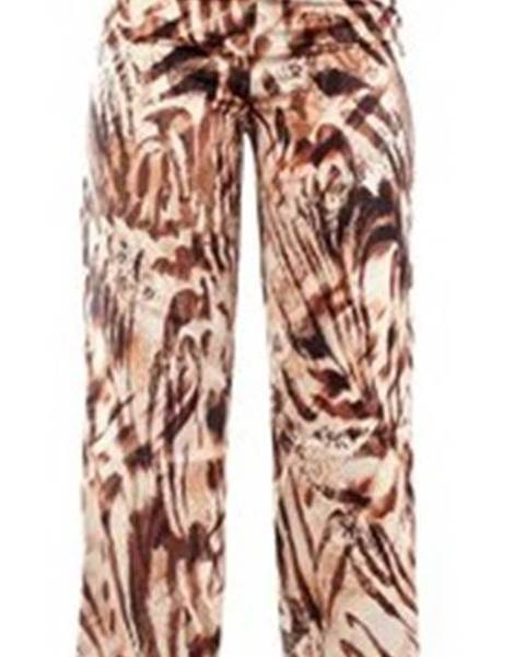 Béžové kalhoty Guess