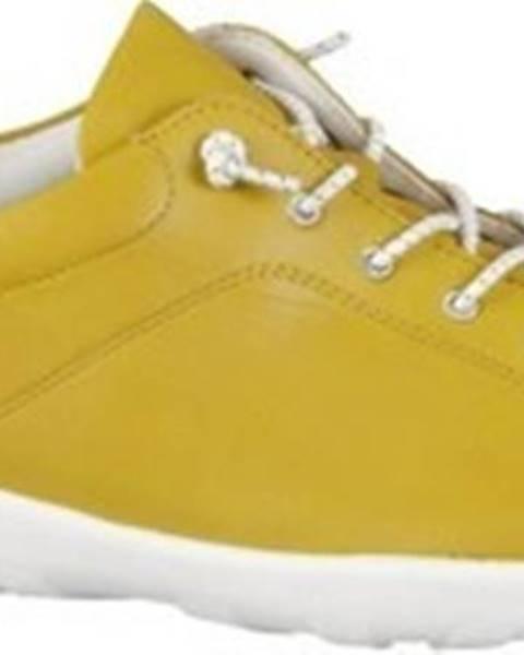 Žluté polobotky REMONTE DORNDORF
