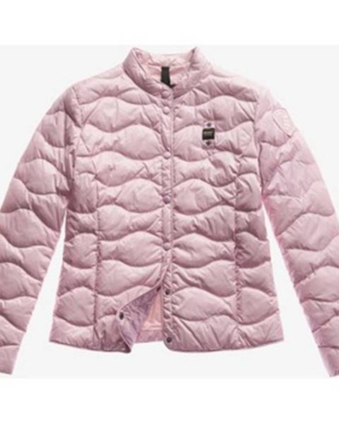 Růžová bunda Blauer