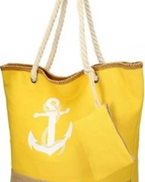 Žlutá kabelka Linea Moda