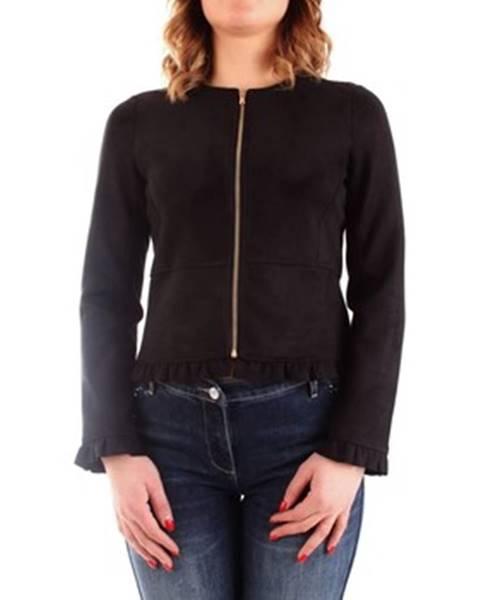 Černá bunda Fracomina
