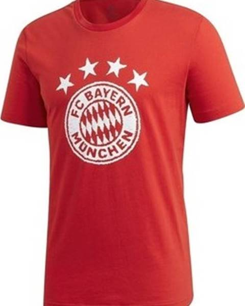 Červené tričko adidas