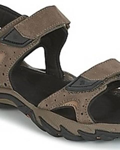 Hnědé sandály columbia
