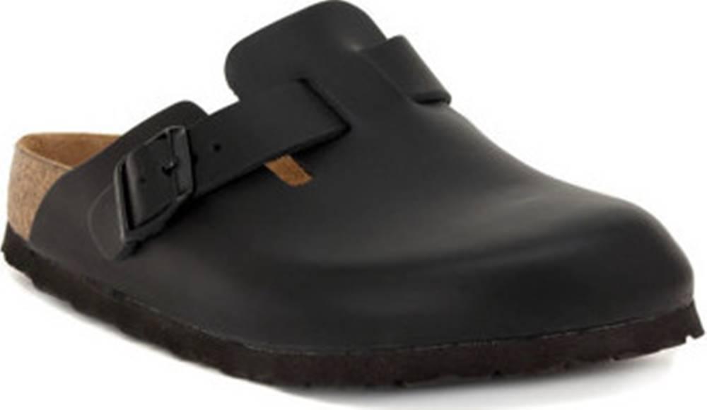 Birkenstock Birkenstock Pantofle BOSTON BLACK calz s ruznobarevne