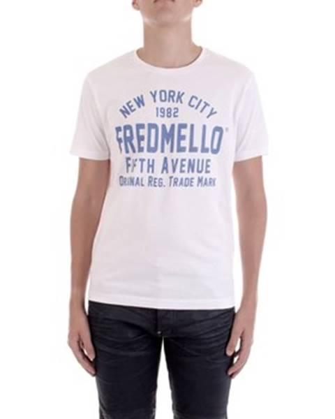 Bílé tričko FRED MELLO