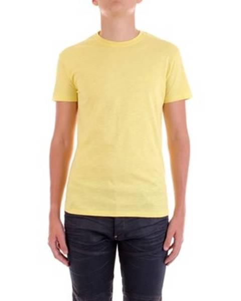 Žluté tričko YES ZEE