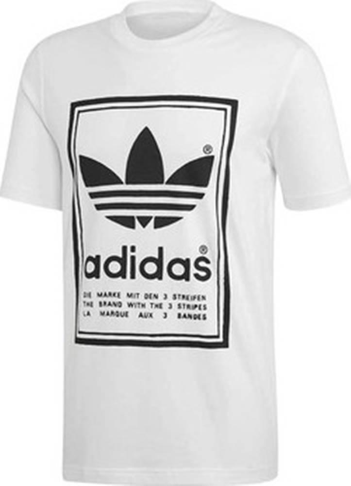adidas adidas Trička s krátkým rukávem Vintage Tee Bílá