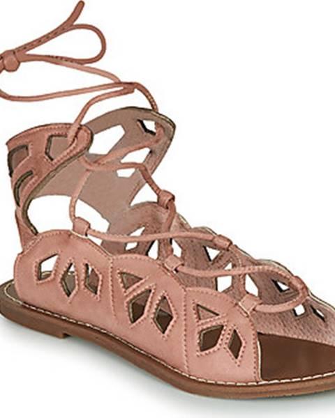 Béžové sandály Les Petites Bombes
