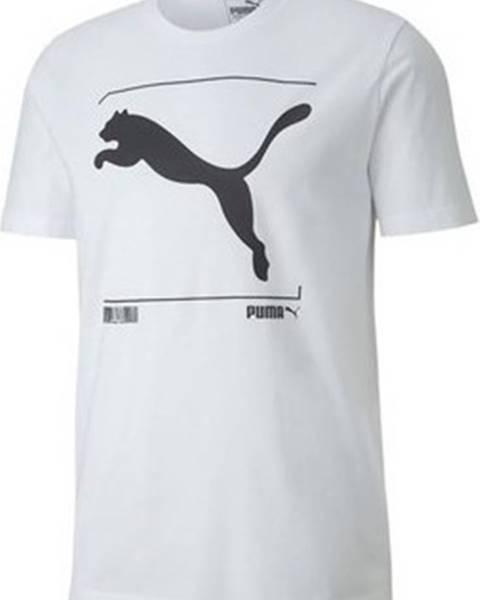 Bílé tričko puma