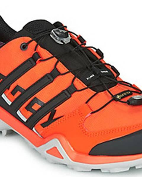 Oranžové boty adidas