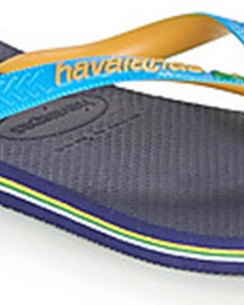 Modré pantofle havaianas