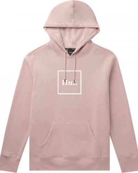 Růžová mikina HUF
