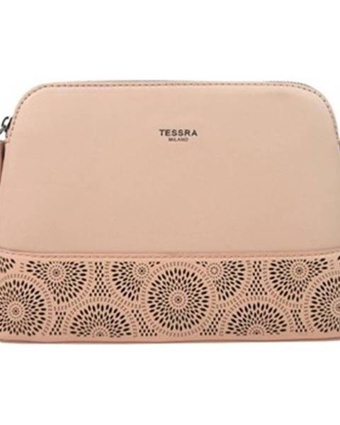 Růžová kabelka Tessra