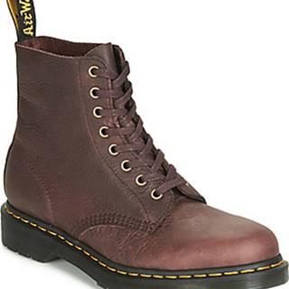 Dr Martens Kotníkové boty 1460 PASCAL Hnědá