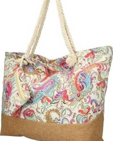 Béžová kabelka Linea Moda