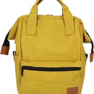 New Rebels Batohy Látkový batoh žlutý - Cody Žlutá
