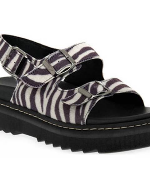 Černé sandály Sono Italiana