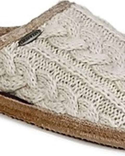 Béžové domácí boty Giesswein